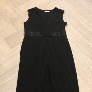 Black Floor Length Gown